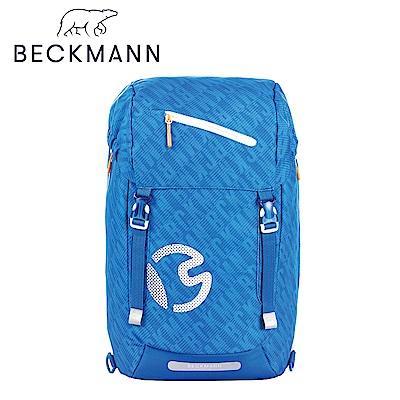 Beckmann-護脊書包28L-經典海藍