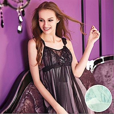 華歌爾睡衣-小心機 M-LL 細帶短裙(薄紗白)性感系列