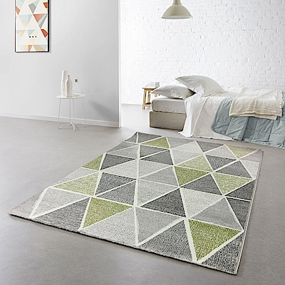 范登伯格 - 薇拉 現代地毯 - 菱格黃 (120 x 170cm)