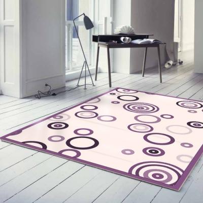 范登伯格 - 情語 典藏絲質地毯-幻圈 (大款-160x230cm)