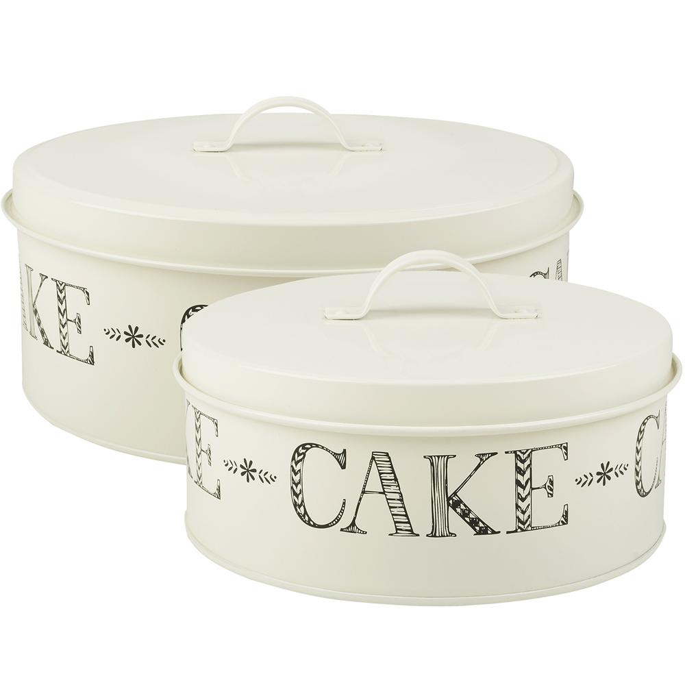 CreativeTops Stir大小蛋糕收納盒2件