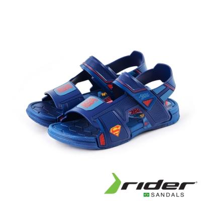 RiderLIGA DA JUSTICA ICON SAND系列涼鞋 藍