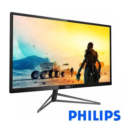 PHILIPS 326M6VJRMB 32型 4K窄邊框電腦螢幕 內建喇叭 支援HDMI