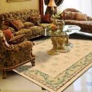 范登伯格 - 光庭天然羊毛花印進口地毯 -雪印 (200x290cm)