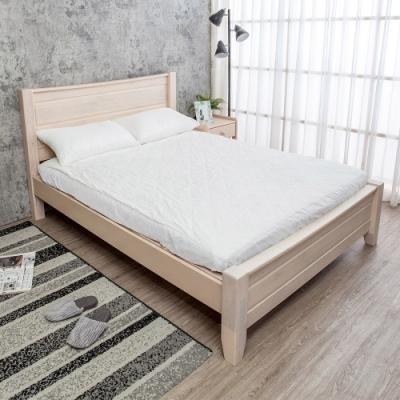 Boden-伊莫5尺雙人全實木床架(不含床墊)