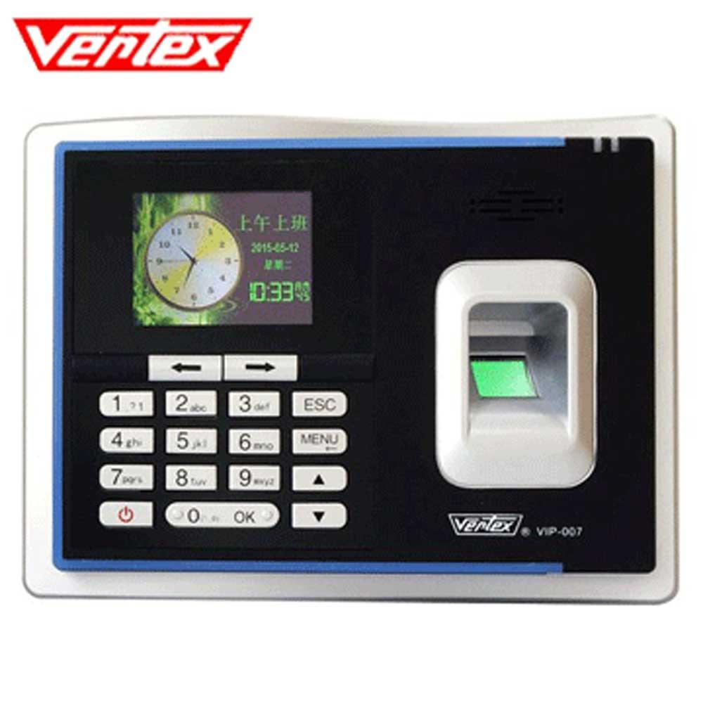 Vertex世尚 VIP-007 智慧型三合一指紋考勤機 現折