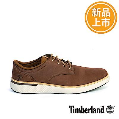 Timberland 男款深咖啡絨面皮革休閒靴