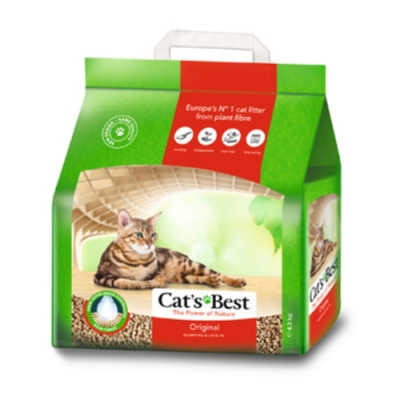 德國凱優Cat′s Best-經典凝結木屑砂(紅標凝結型) 4.3kg