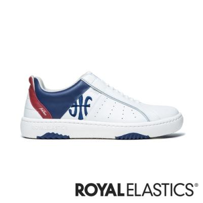 ROYAL ELASTICS ICON2.0X 白藍紅真皮運動休閒鞋 (男) 06312-015