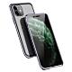 iPhone 11 保護殼 金屬 透明 全包 磁吸雙面玻璃殼 手機殼 紫色 (iPhone11手機殼 iPhone11保護殼 ) product thumbnail 1