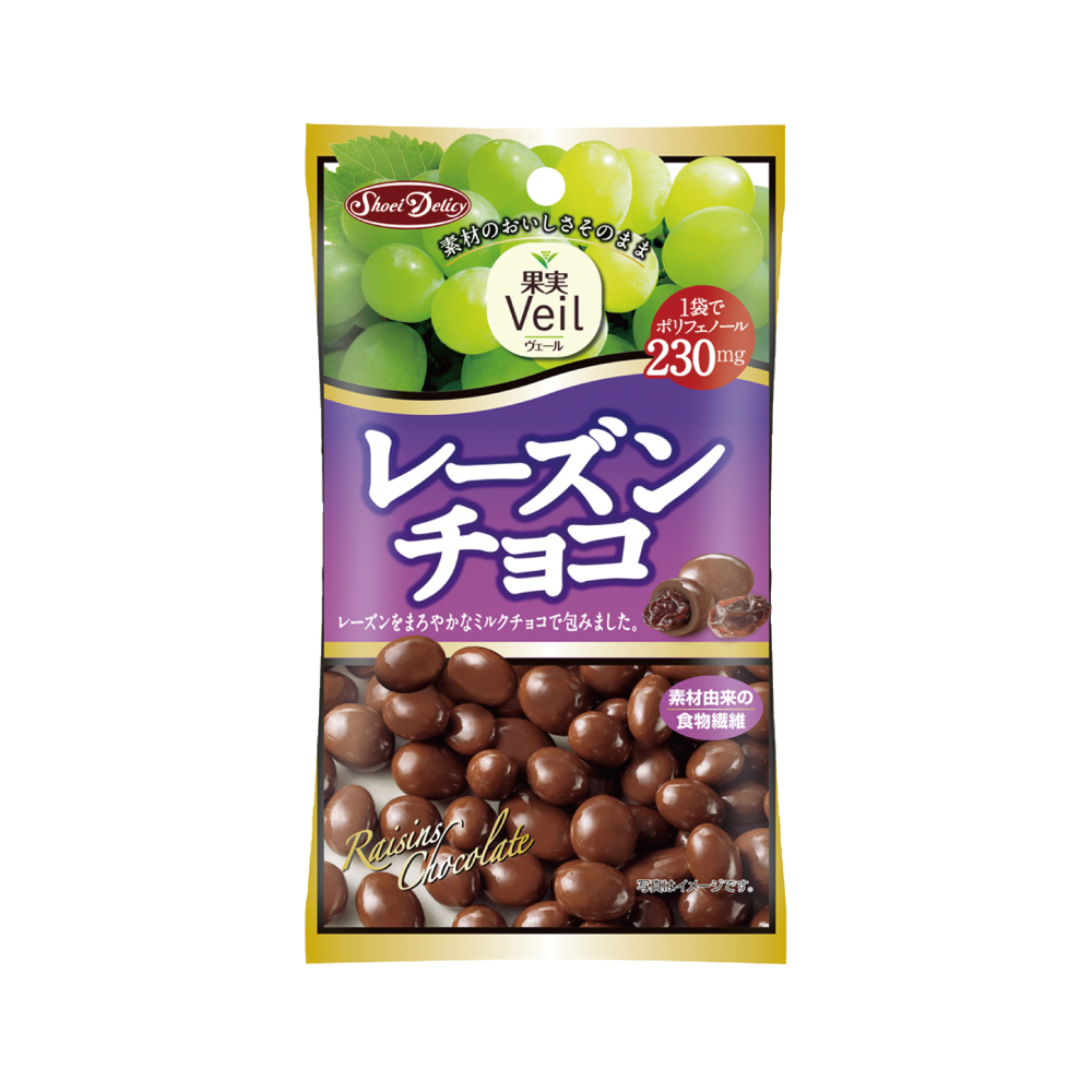 正榮 果實Veil葡萄乾巧克力(47g)