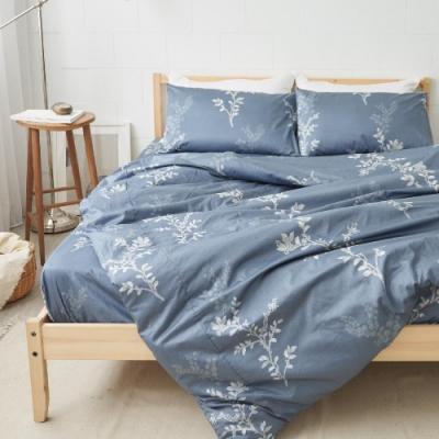 BUHO 4.5x6.5尺單人精梳純棉被套(花蔭淨境)
