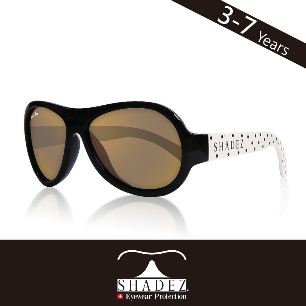 瑞士 SHADEZ 兒童太陽眼鏡 【圖騰設計款-波卡點點 SHZ-84】3 - 7歲