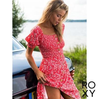 【ROXY】SUNSHINE MIND 洋裝 紅色