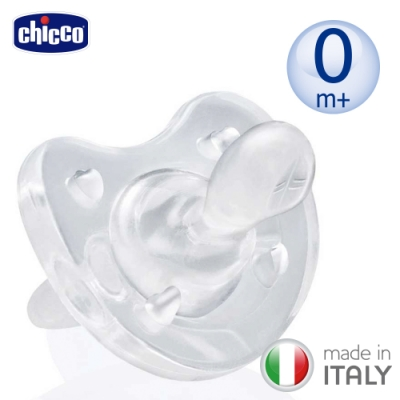 chicco-矽膠拇指型安撫奶嘴-大/中/小