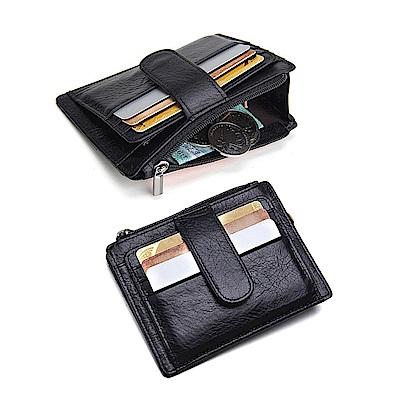 leaper CONTACTS 真皮卡片證件夾零錢袋