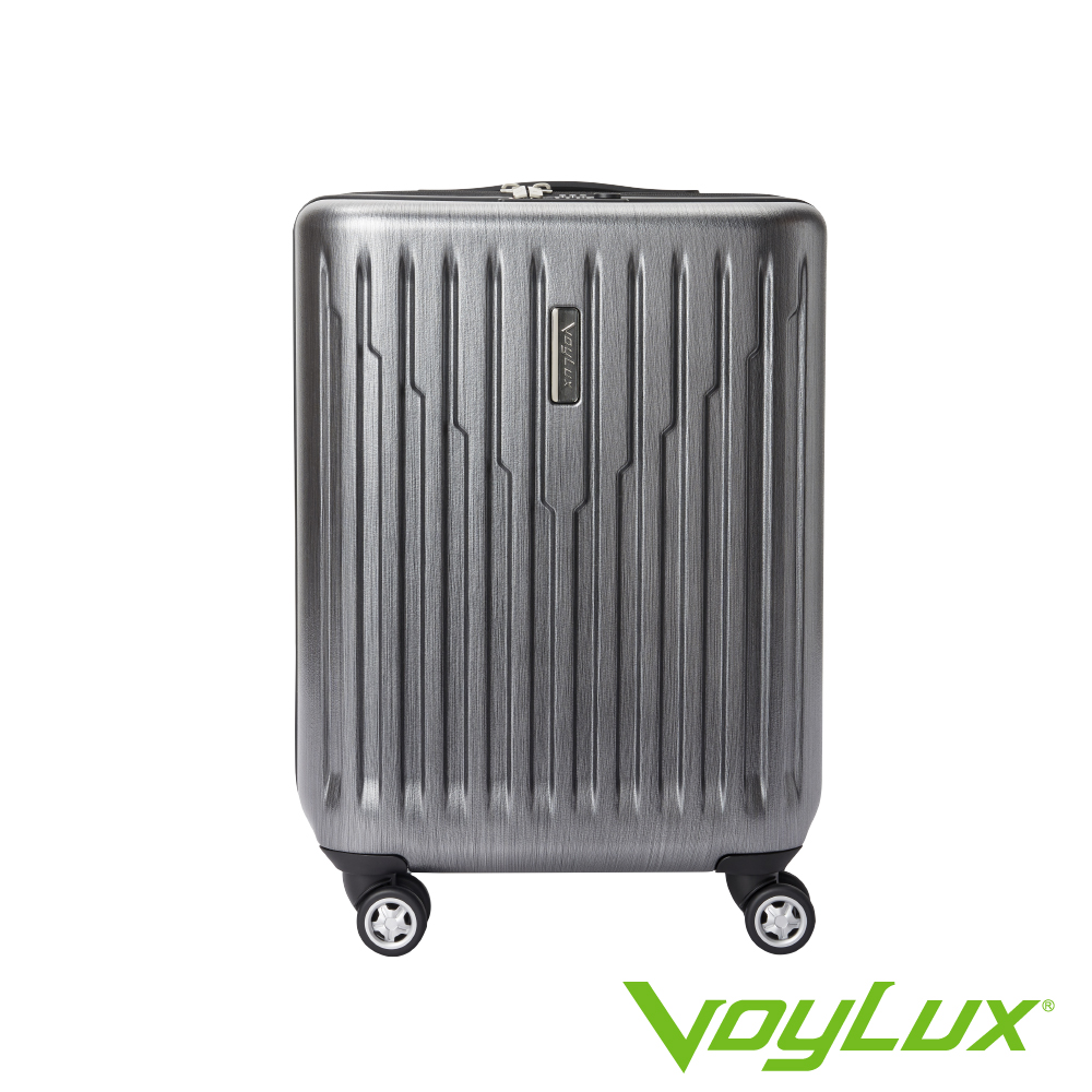 VoyLux伯勒仕-VIBRATE系列條紋21吋硬殼登機箱-銀灰色 3088101