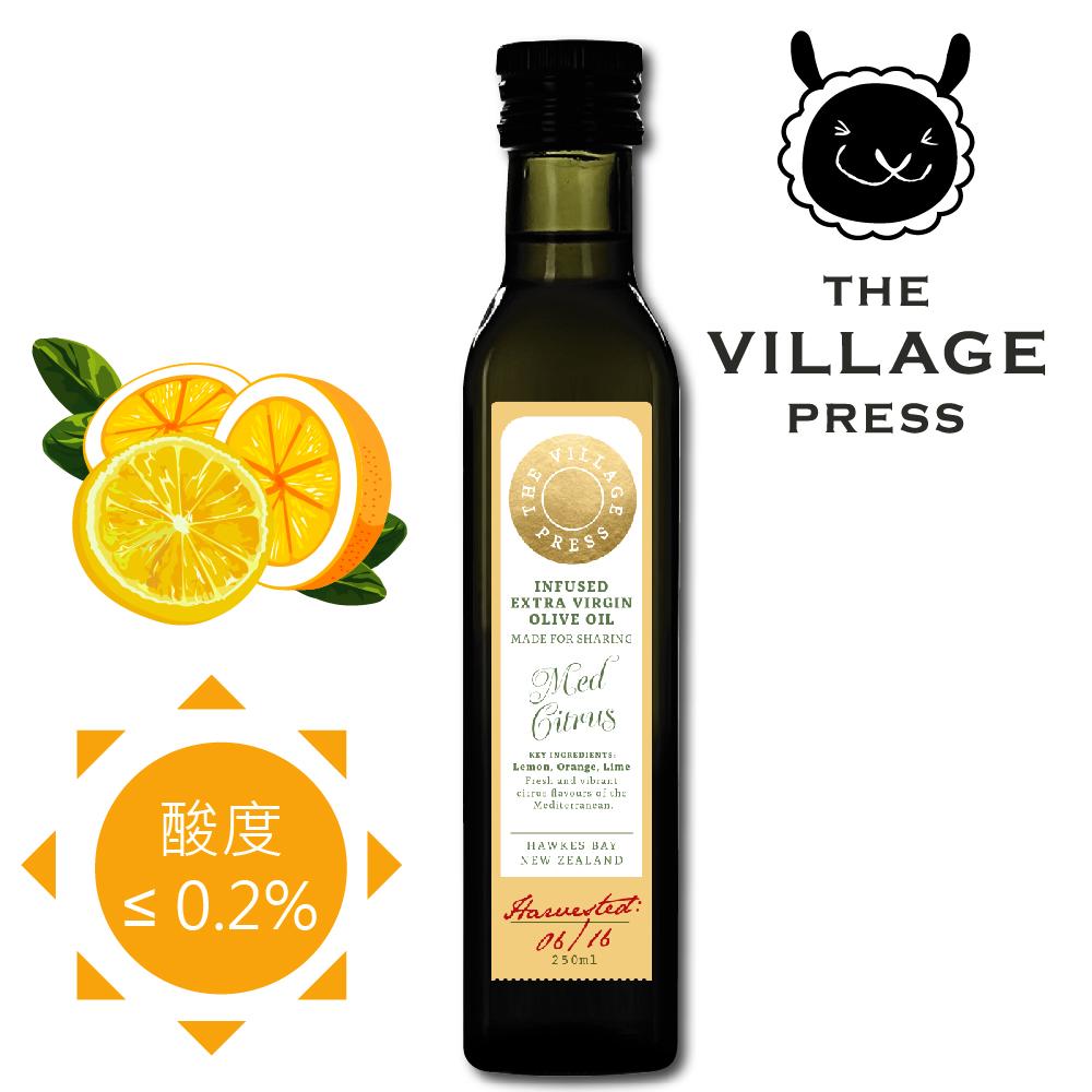 壽滿趣 紐西蘭廚神系列-頂級冷壓初榨地中海柑橘風味橄欖油(250ml)