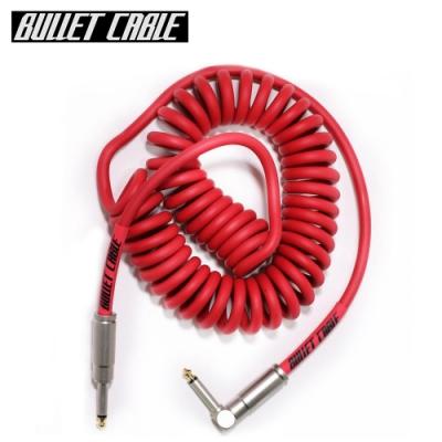 Bullet Cable 15CCR IL 捲捲樂器專用導線線材 3.75公尺 紅色款