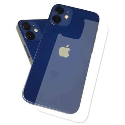 (贈防指紋邊膜2組)iPhone 12 mini 5.4吋 抗污防指紋超顯影機身背膜(2入)
