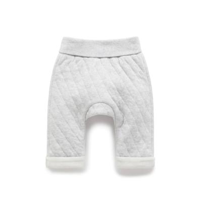 澳洲Purebaby有機棉嬰童棉褲-薄鋪棉3~18月