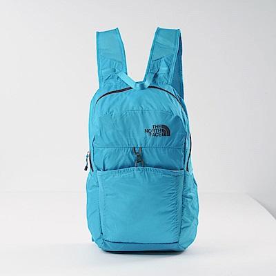 TheNorthFace北面藍色輕便可打包戶外雙肩背包| CJ2Z6FR