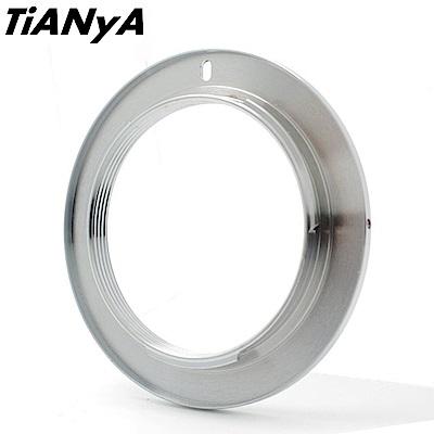 Tianya M42轉Nikon尼康F接環(無檔板.無遮蔽環)轉接環M42-Nikon/F