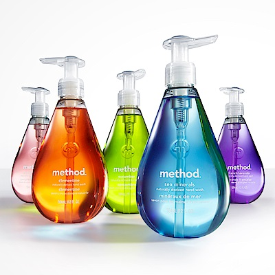 (福利品)Method美則洗手乳綜合6件組