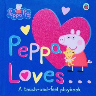 Peppa Pig:Peppa Loves 佩佩豬喜歡的東西觸摸硬頁書