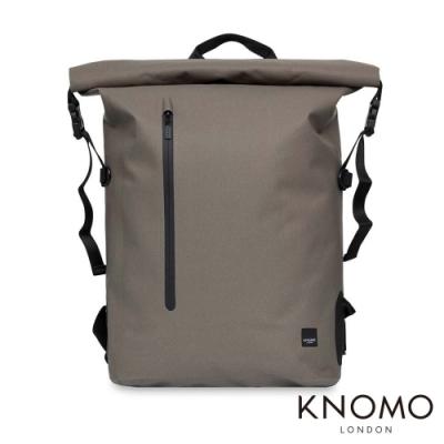 KNOMO 英國 Cromwell 英倫戶外風格電腦後背包 - 卡其色 15 吋