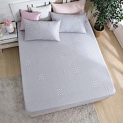 DESMOND岱思夢 單人 天絲床包枕套二件組(3M專利吸濕排汗技術) 西芙