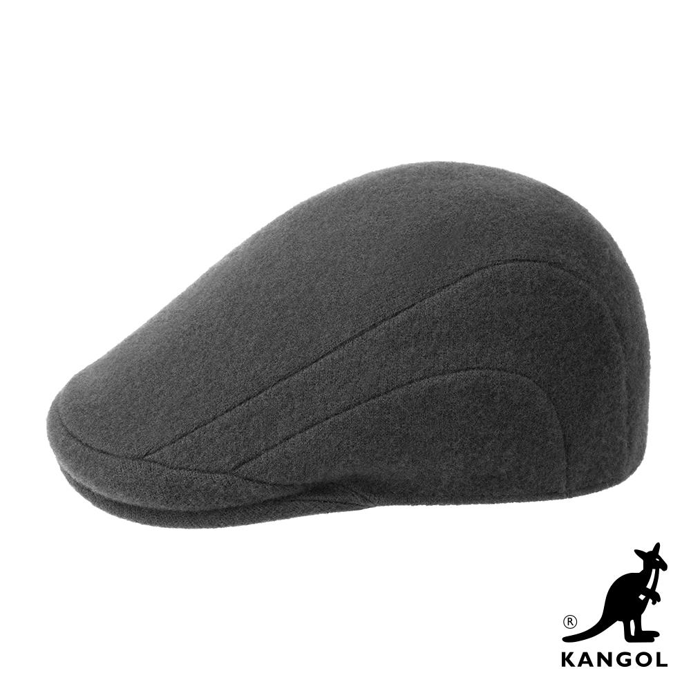 KANGOL-507 WOOL鴨舌帽-深灰色