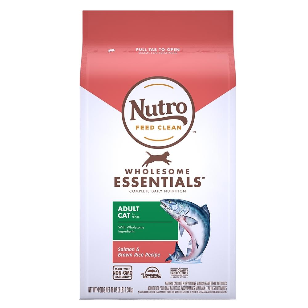 Nutro 美士 全護營養 特級成貓配方(鮭魚+糙米)5磅 2包組