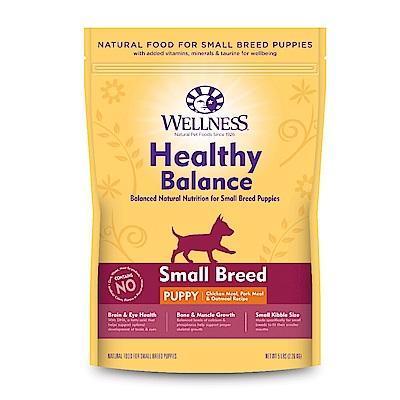 【買一送一】Wellness 健康均衡 小型幼犬 聰明照護食譜 5磅