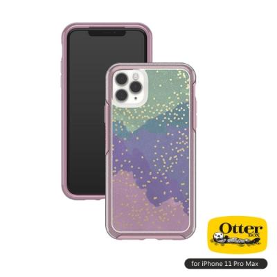 OtterBox iPhone 11 Pro Max(6.5吋)專用 防摔吸震手機保護殼-Symmetry炫彩透明系列■炫彩綠粉