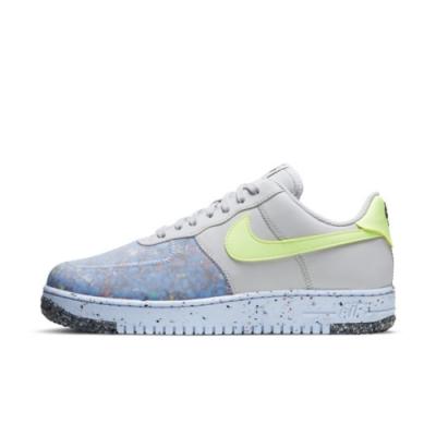 NIKE AIR FORCE 1 CRATER 男休閒鞋 半透明-灰藍黃-CZ1524001