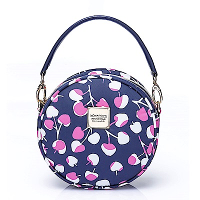 VOVAROVA空氣包-甜甜圈側背包-Cherrypicks(Indigo&pink)
