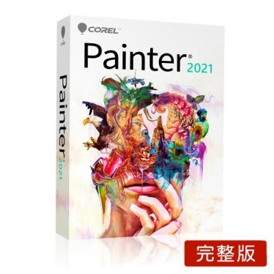 COREL Painter 2021 完整版盒裝(中/英)