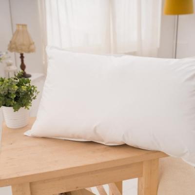 BUHO布歐 精選優質純天然羽絲絨枕(1入)-白