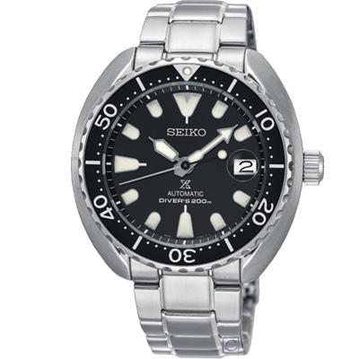 SEIKO PROSPEX  200米潛水機械錶(SRPC35J1)黑/41mm