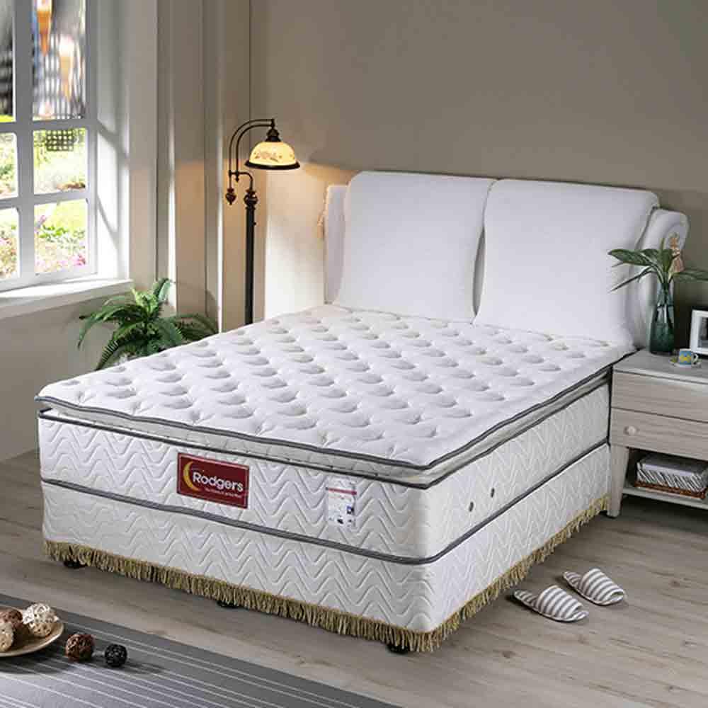 莫札特602三線乳膠獨立筒床墊-雙人標準5*6.2尺 @ Y!購物