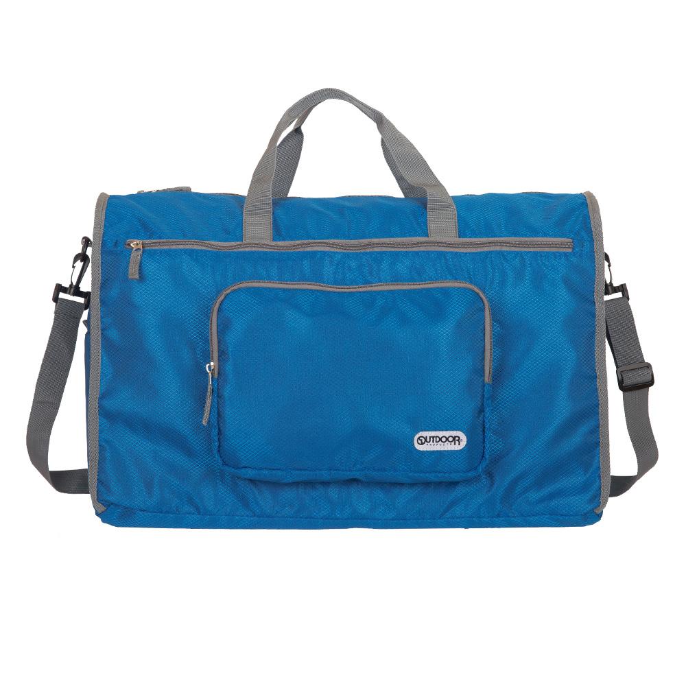 旅遊配件-摺疊旅行袋(大)-藍 ODS17B09BL