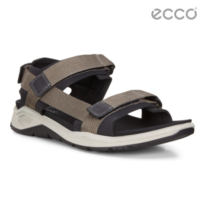 ECCO X-TRINSIC M 運動時尚休閒涼鞋 男鞋-暖灰/黑