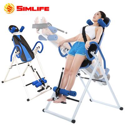 【SimLife】頂級防護人體工學倒立循環機(海洋藍)