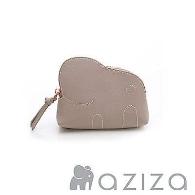 aziza 小象零錢包-灰