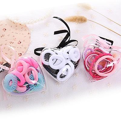 Hera 赫拉 心形盒裝髮圈組-3款