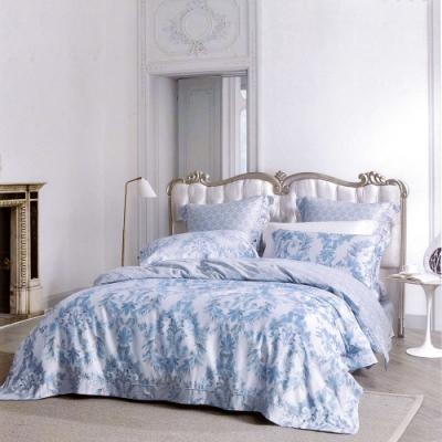 Lily Royal 60支頂級天絲 四件式兩用被床包組 加大 夜之華章灰