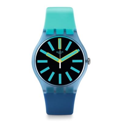 Swatch New Gent 原創系列手錶 FLASHWHEEL -41mm