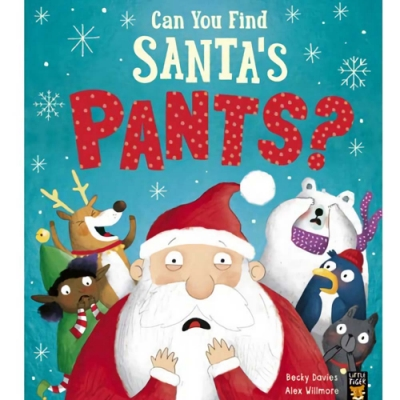 Can You Find Santa s Pants? 聖誕老公公的褲子到哪去了?平裝繪本