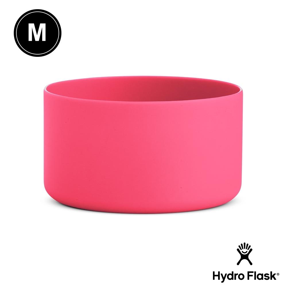 美國Hydro Flask 彈性矽膠防滑瓶套 西瓜紅 M